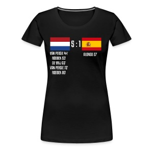 Netherlands 5-1 Spain - Women's Premium T-Shirt