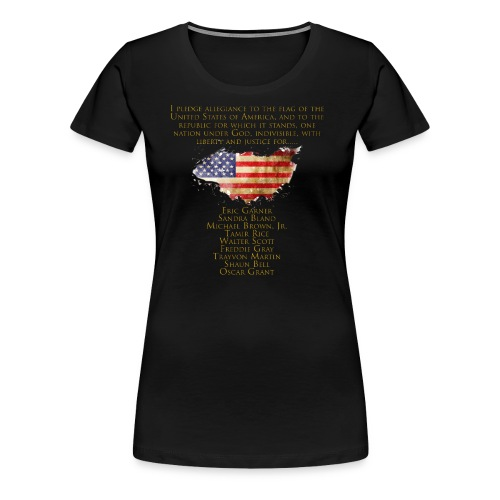 Justice for the Unarmed - Women's Premium T-Shirt