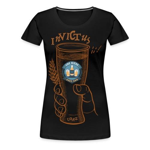 Une bière avec Dan - Invictus - Women's Premium T-Shirt