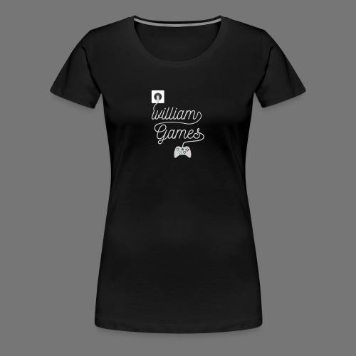 williamgames Controller - Women's Premium T-Shirt