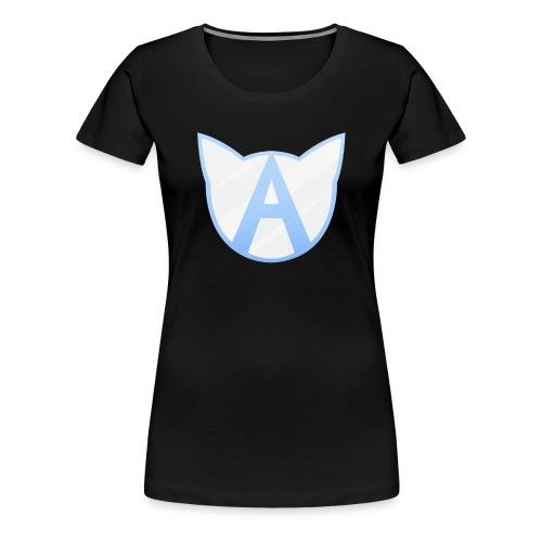 Allycat Logo Blue - Women's Premium T-Shirt