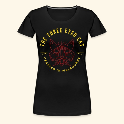 Look what the cat dragged in. - Women's Premium T-Shirt