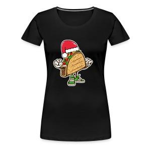 Taco Santa Hat Shirt - Women's Premium T-Shirt