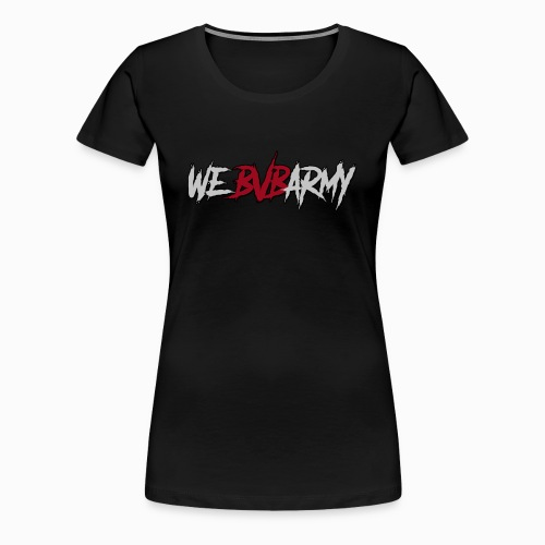 BLACK VEIL BRIDES ARMY - Women's Premium T-Shirt