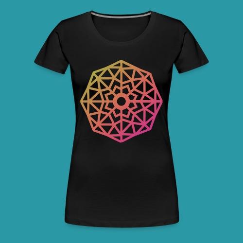 Inverted Snowflake - Women's Premium T-Shirt