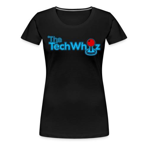 TheTechWhiz Logo - Women's Premium T-Shirt