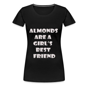 Almonds - Women's Premium T-Shirt