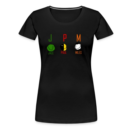 JPM merch logo 1 - Women's Premium T-Shirt