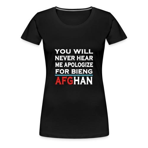 bieng proud of AFG - Women's Premium T-Shirt