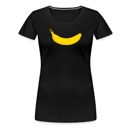 Simple Banana - Women's Premium T-Shirt