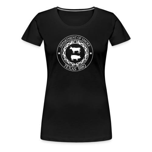 Department of Smoke Original Tee - Women's Premium T-Shirt