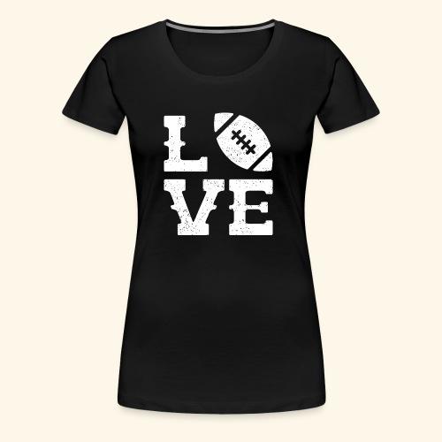 Football Love - Women's Premium T-Shirt