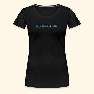 Worldwide Escapes - Women's Premium T-Shirt