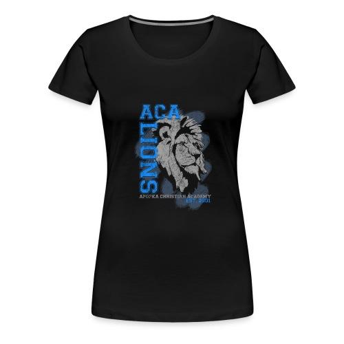 ACA_Lion_Prod_ss - Women's Premium T-Shirt