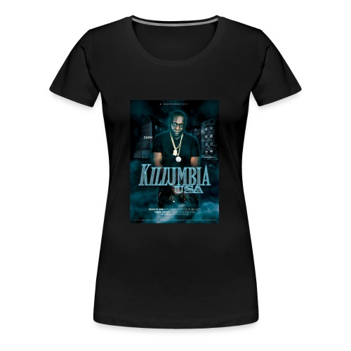 Killumbia, USA Cash - Women's Premium T-Shirt
