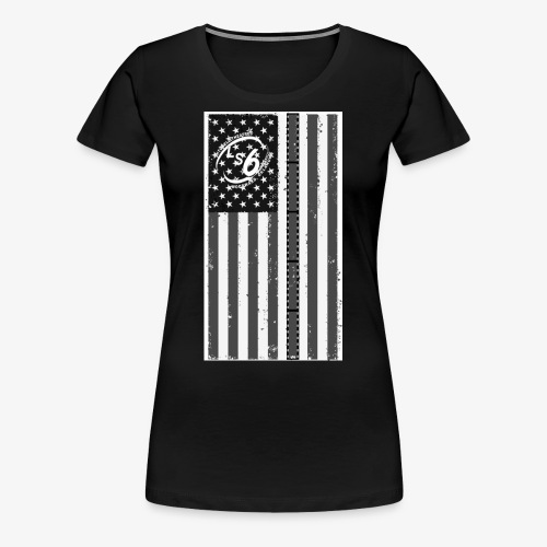 Tattered LS6 Theater Flag - Women's Premium T-Shirt