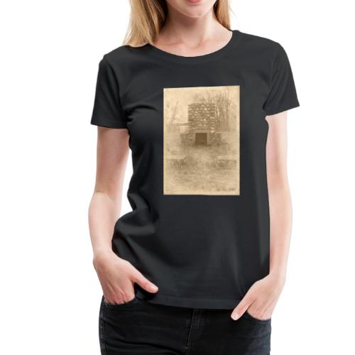Burning in the Woods - Women's Premium T-Shirt