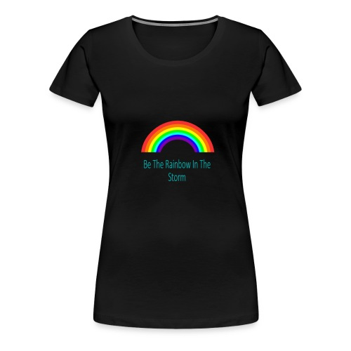 Rainbow Design - Women's Premium T-Shirt