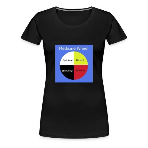 Native Medicine Wheel - Women's Premium T-Shirt
