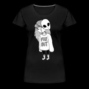Alien Babe - Women's Premium T-Shirt