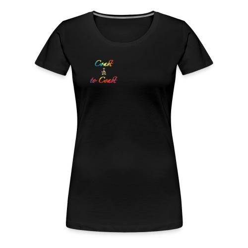Coast to coast alien - Women's Premium T-Shirt