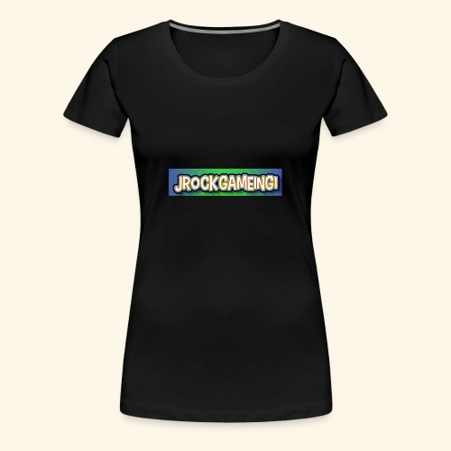 JrockGameing1 logo - Women's Premium T-Shirt