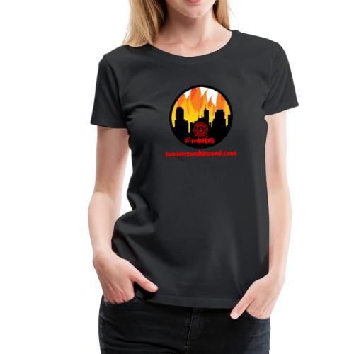 OG foBIDS red logo - Women's Premium T-Shirt