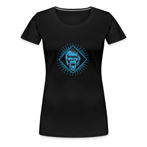 Crazy monkey - Women's Premium T-Shirt
