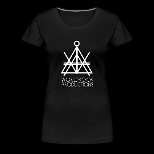 Worldrook Traditional, Black Fill - Women's Premium T-Shirt