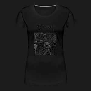 Mortal Curse Single Cover Design - Women's Premium T-Shirt