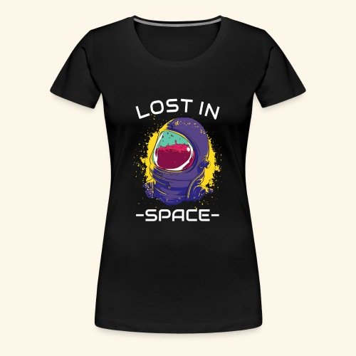 lost in space - Women's Premium T-Shirt
