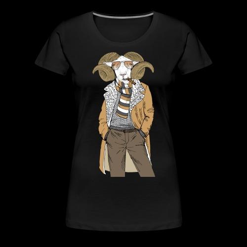 Mr. Goat - Women's Premium T-Shirt