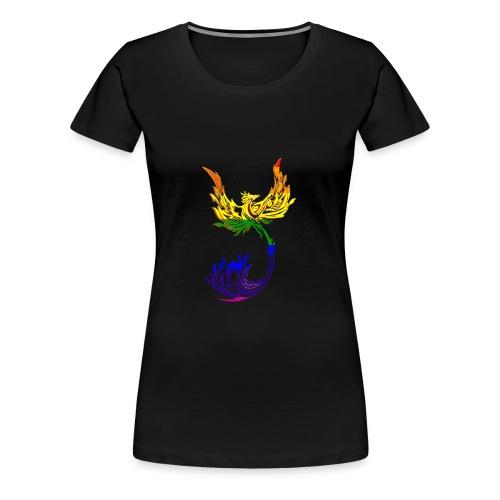 Rainbow Phoenix - Women's Premium T-Shirt