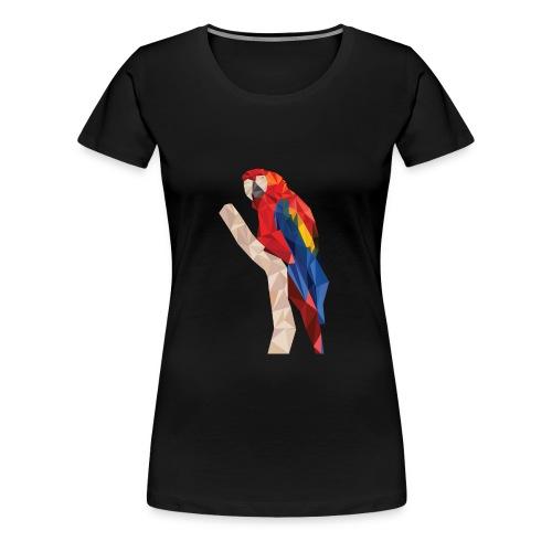 parrot poly low - Women's Premium T-Shirt
