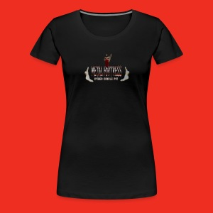 Metal Geezer Pic - Women's Premium T-Shirt