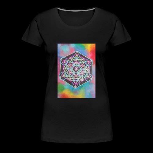 The Cube - Women's Premium T-Shirt