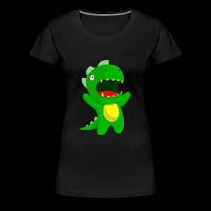 DINOSAUR - Women's Premium T-Shirt