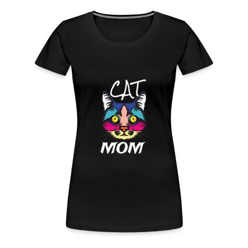Cat Mom - Hope you like it Mom - Women's Premium T-Shirt