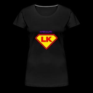 Supervillain by Lil Kodak - Women's Premium T-Shirt