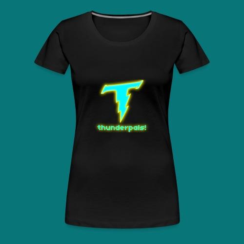 Thunder Pals Logo And Text - Women's Premium T-Shirt