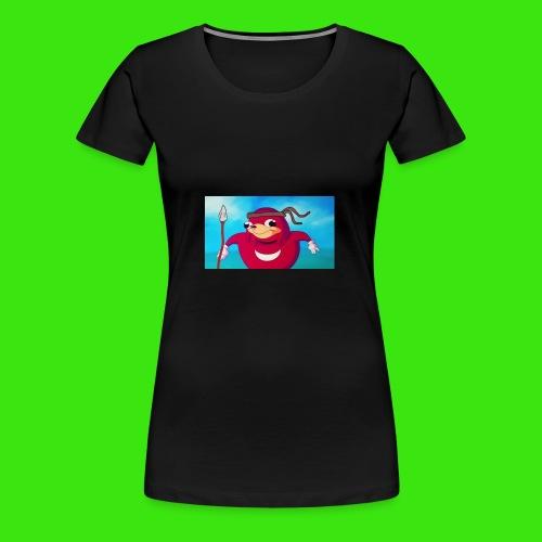 Do you know de wei - Women's Premium T-Shirt