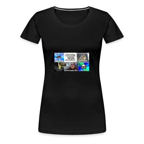 Hilarious Lazy Memes - Women's Premium T-Shirt