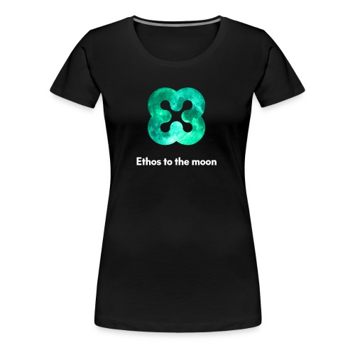 ETHOS - BITQUENCE - To The Moon - Women's Premium T-Shirt