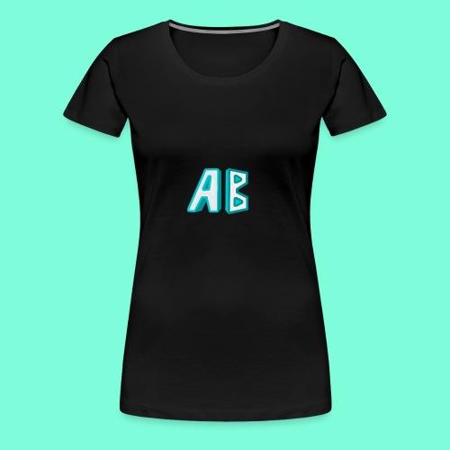 A Button Gaming Logo - Women's Premium T-Shirt