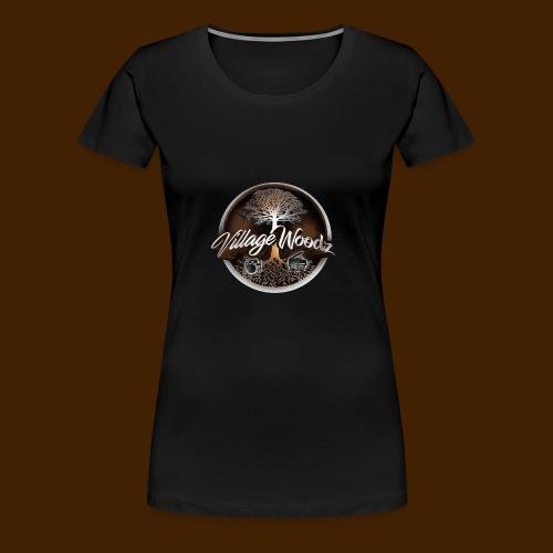 Village Woodz - Women's Premium T-Shirt