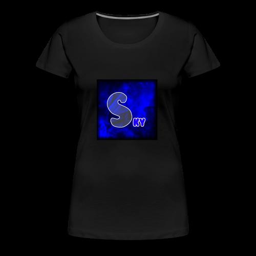 SkyFrost Logo - Women's Premium T-Shirt