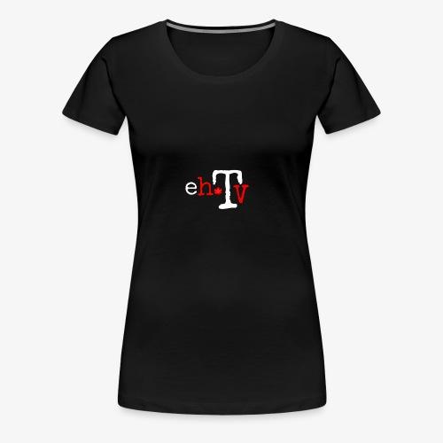 eh TV - Women's Premium T-Shirt