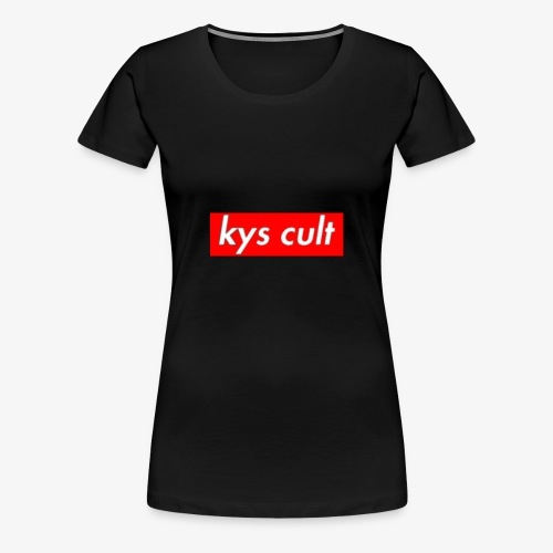 kys cult red - Women's Premium T-Shirt