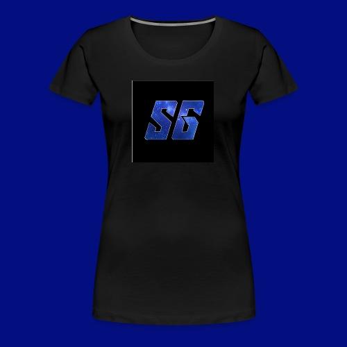 Sideways Gamer Logo - Women's Premium T-Shirt