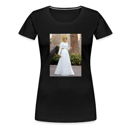 Muslim Hijab Girl - Women's Premium T-Shirt